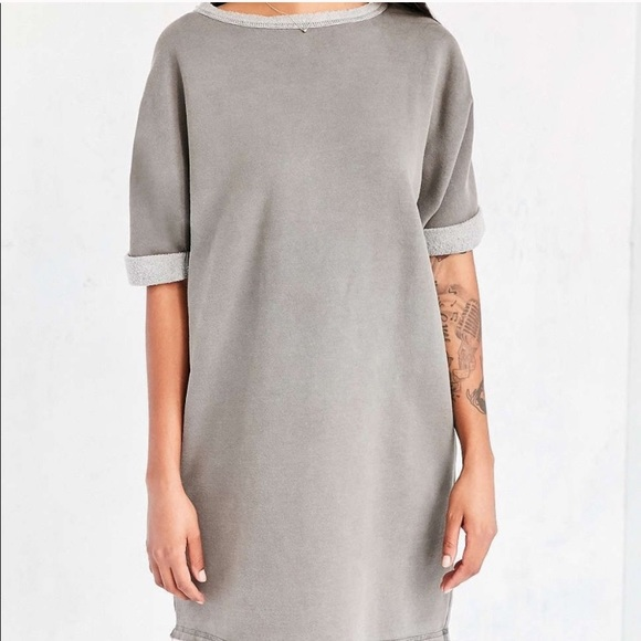 Urban Outfitters Dresses & Skirts - Silence + Noise | Gray Dax Dolman Sweatshirt Dress